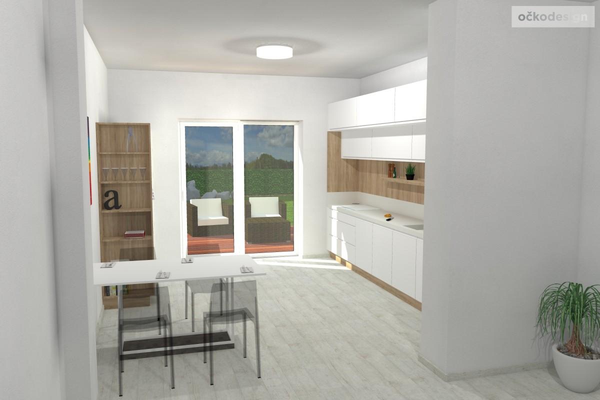 design kuchyně, moderní interiery, 3d návrhy interiérů12