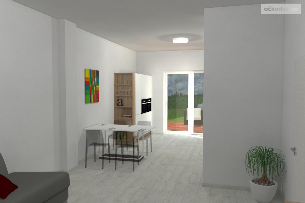 design kuchyně, moderní interiery, 3d návrhy interiérů1