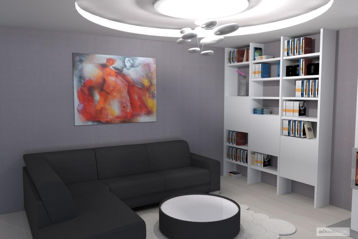 designová kuchyň,moderní obývák, rezidence wellnerova švýcarská 10