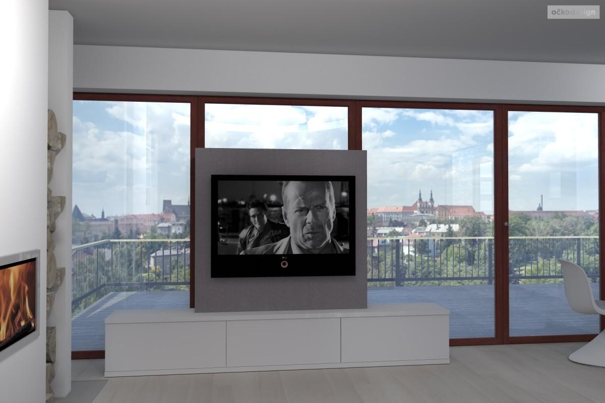 designová kuchyň,moderní obývák, rezidence wellnerova švýcarská 13