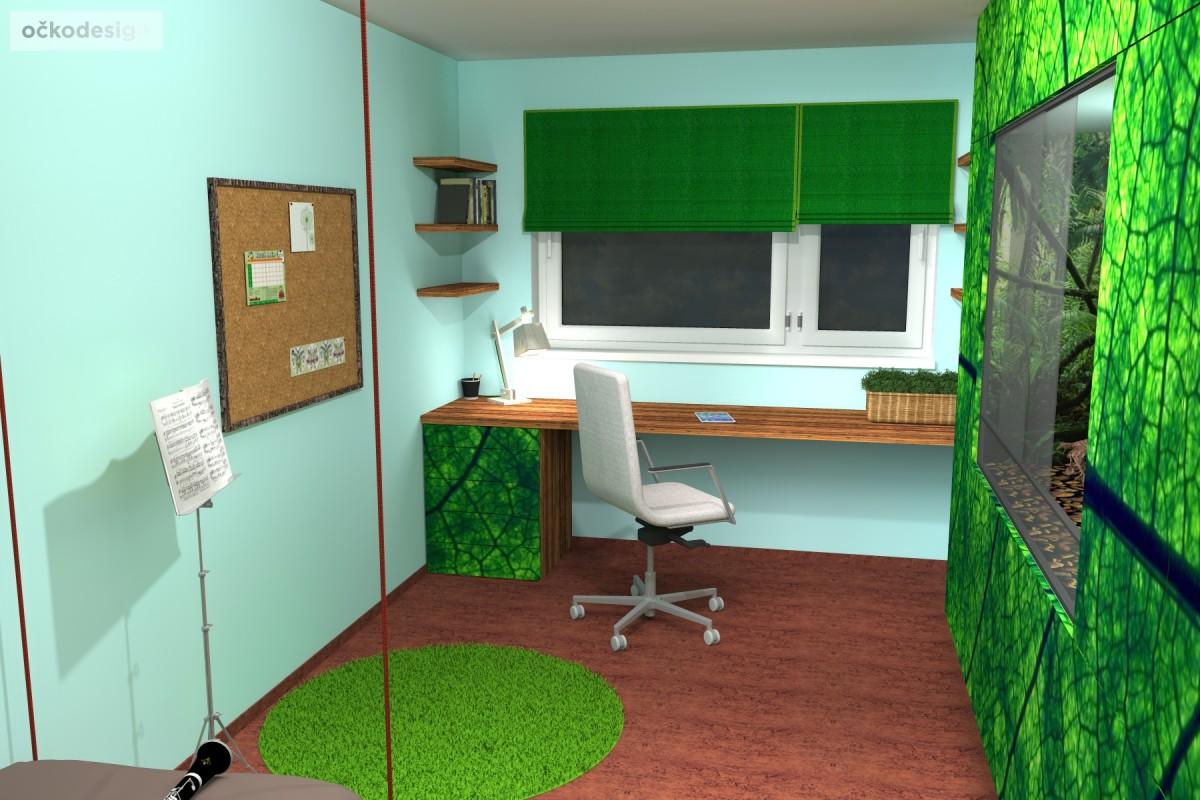 designovy detsky pokoj, moderni studentske pokoje jak navrhnout byt 1