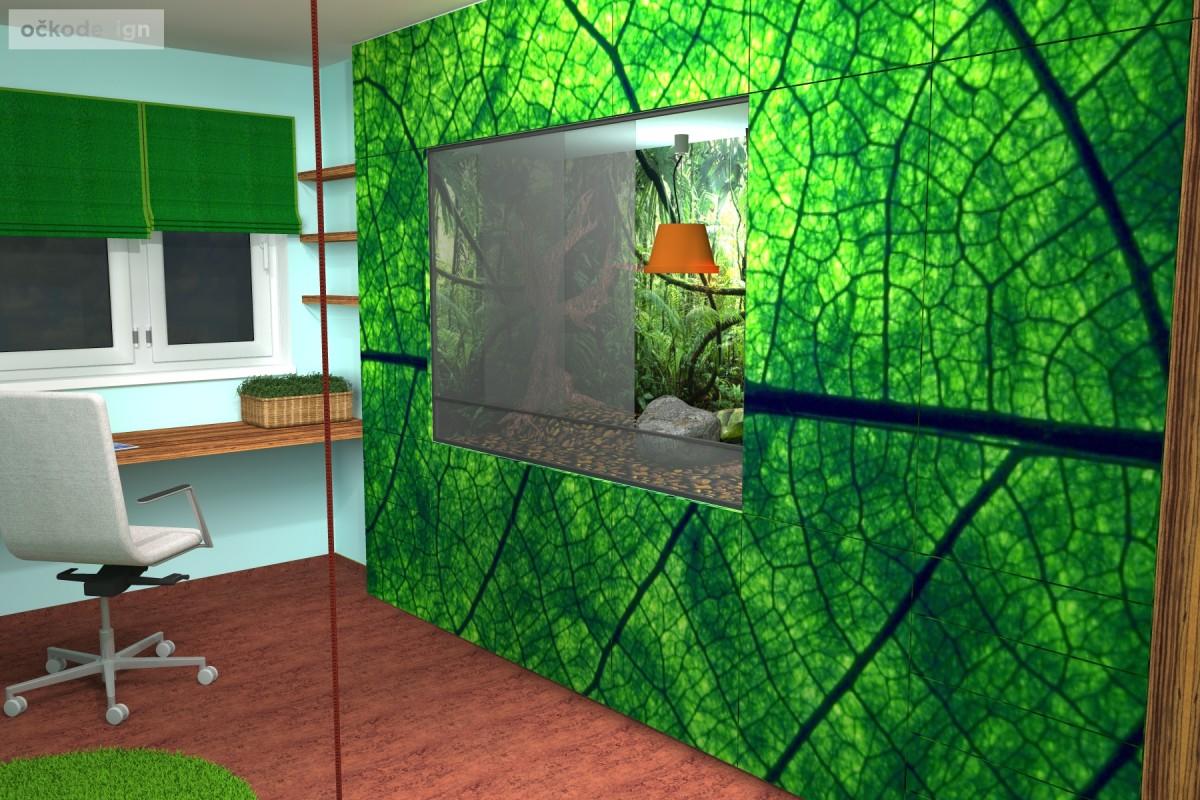 designovy detsky pokoj, moderni studentske pokoje jak navrhnout byt 2