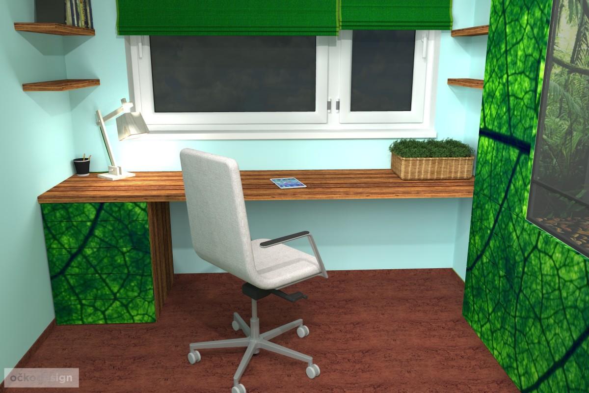 designovy detsky pokoj, moderni studentske pokoje jak navrhnout byt 3