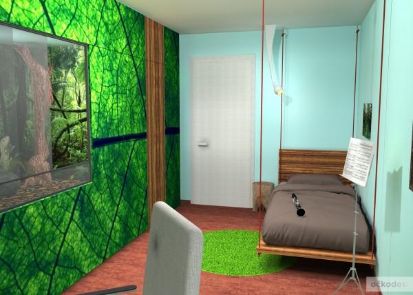 designovy detsky pokoj, moderni studentske pokoje jak navrhnout byt 7