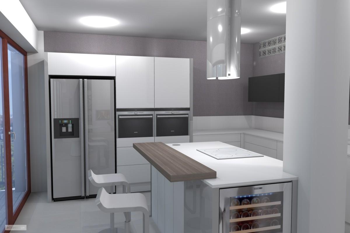 kuchyňský ostrůvek, designová kuchyň,moderní obývák 3