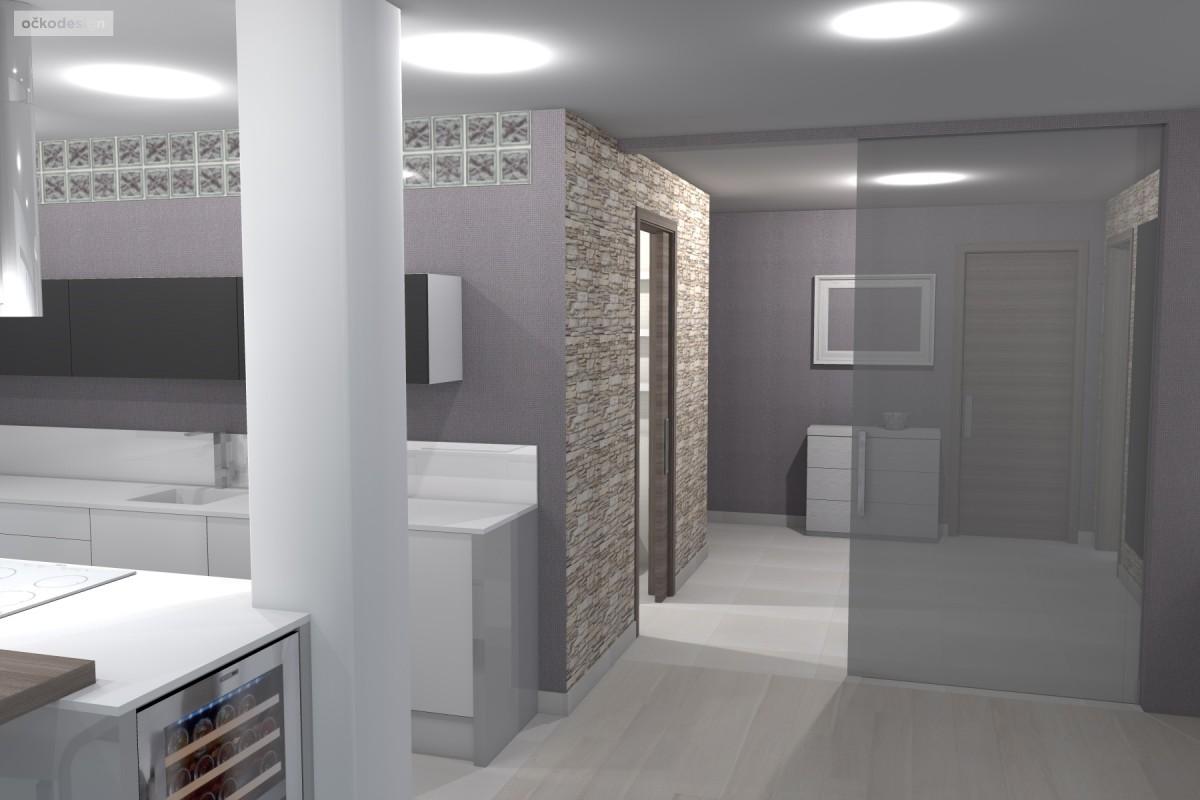 kuchyňský ostrůvek, designová kuchyň,moderní obývák 5