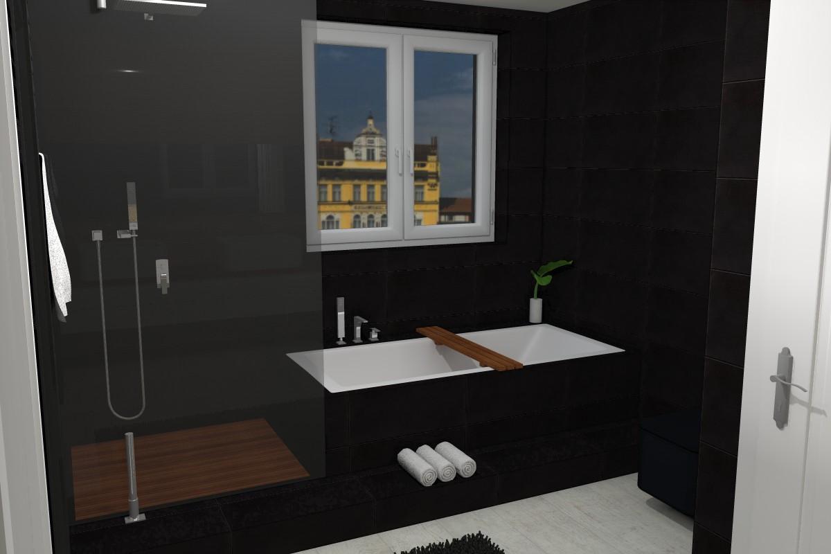 Petr Molek-bytovy designer-bytovy architekt-návrhy koupelen-designova koupelna-černá koupelna-návrhy interiéru3