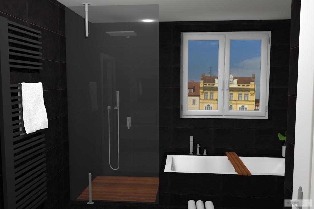 Petr Molek-bytovy designer-bytovy architekt-návrhy koupelen-designova koupelna-černá koupelna-návrhy2 interiéru