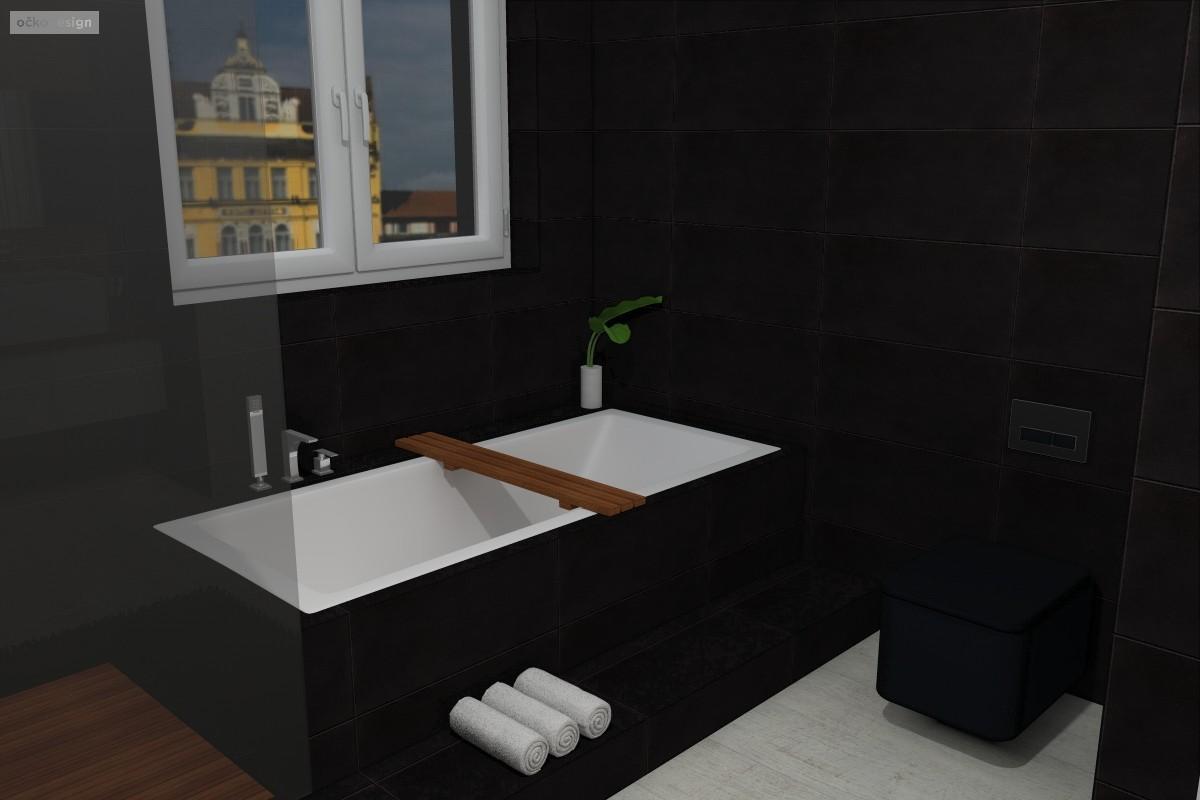Petr Molek-bytovy designer-bytovy architekt-návrhy koupelen-designova koupelna-černá koupelna4-návrhy interiéru