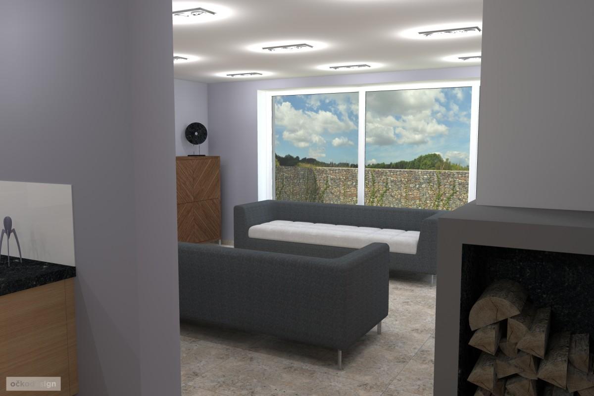 Petr Molek -designové kuchyně,moderní obývací pokoj,interior design11