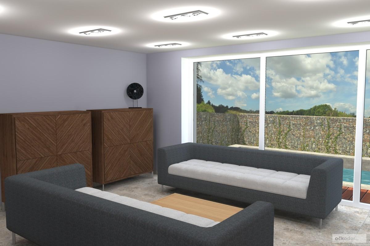 Petr Molek -designové kuchyně,moderní obývací pokoj,interior design12