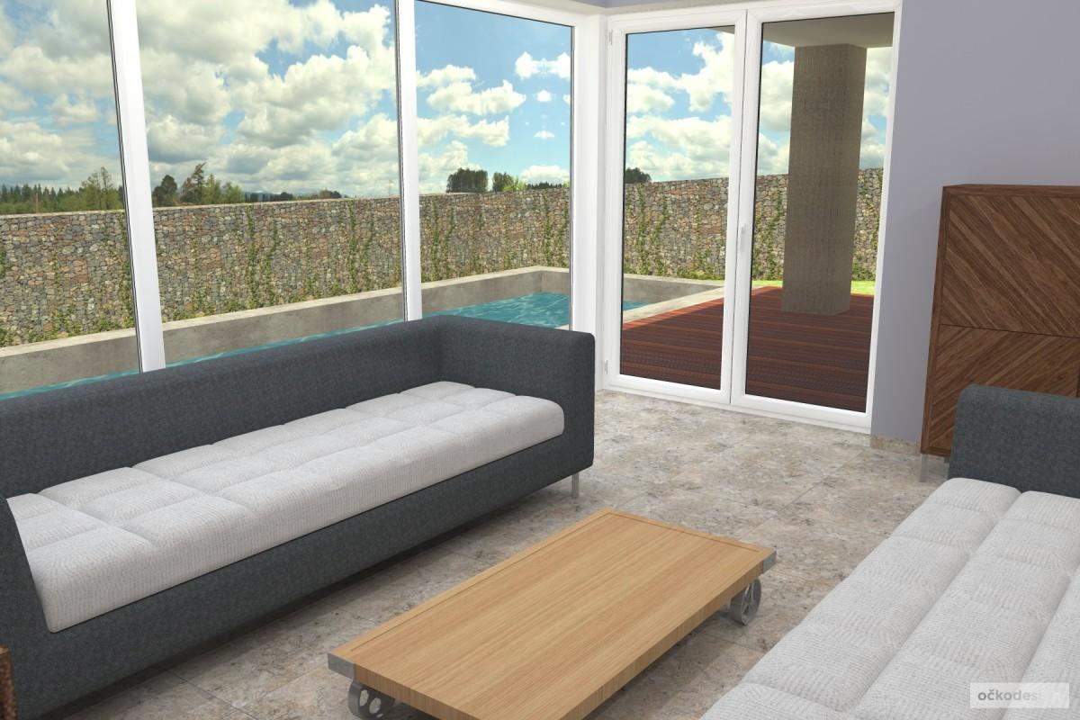 Petr Molek -designové kuchyně,moderní obývací pokoj,interior design2
