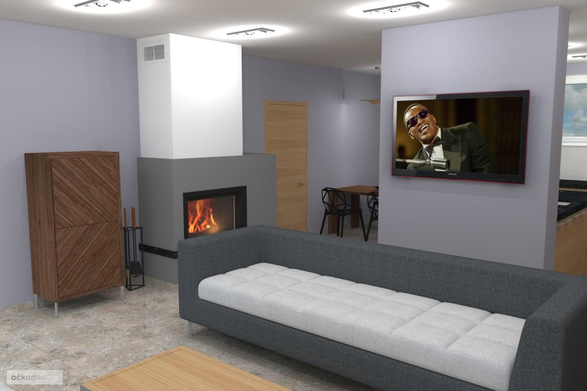 Petr Molek -designové kuchyně,moderní obývací pokoj,interior design3