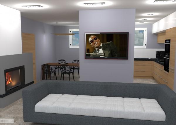 Petr Molek -designové kuchyně,moderní obývací pokoj,interior design4