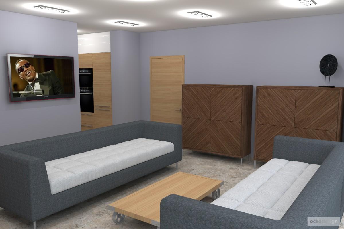 Petr Molek -designové kuchyně,moderní obývací pokoj,interior design5