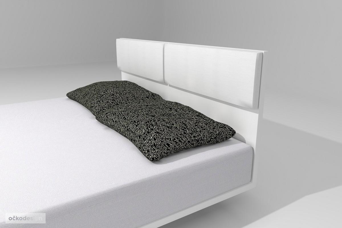 designové postele na zakázku