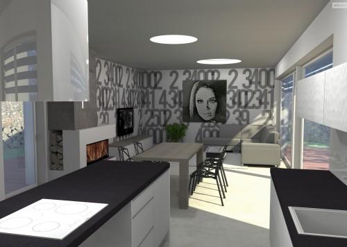 bytový designer. Interiérový architekt Praha, 3D návrhy rezidencí, Moderní kuchyně, designové interiéry, jak navrhnout, jak rekonstruovat, interiér design, betonová