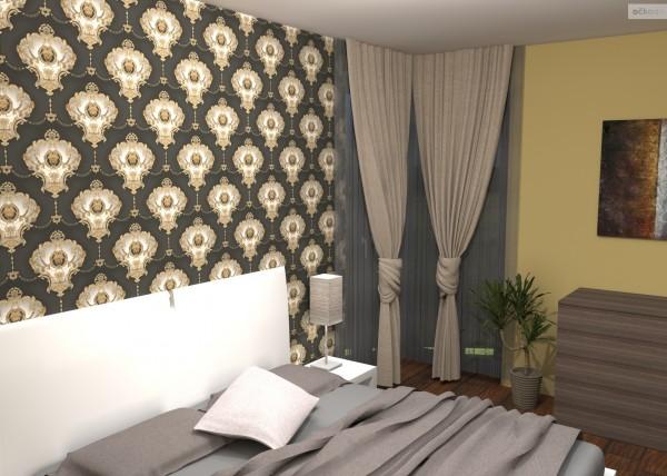 3D návrh ložnice,návrhy interiérů,bytový designer Olomouc