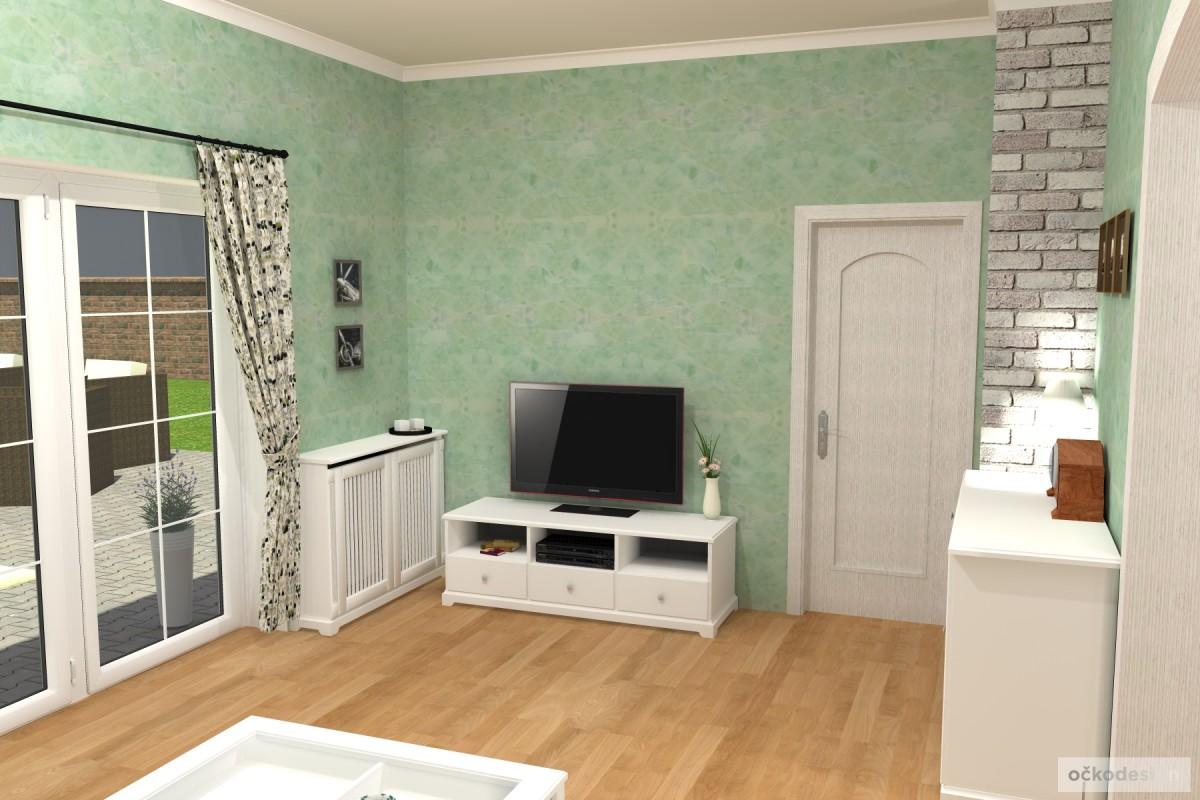 3D návrhy-klasické kuchyně-moderní interiéry 8