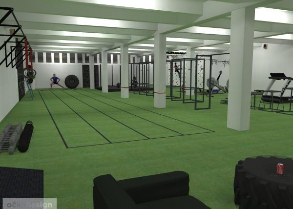 TRX, crossfit, Workout posilovna, cvičiště