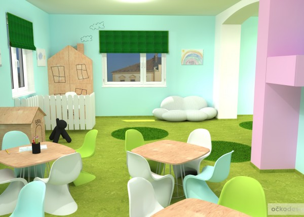 design školka,designové interiéry,3D návrhy, Interiérový designer 10