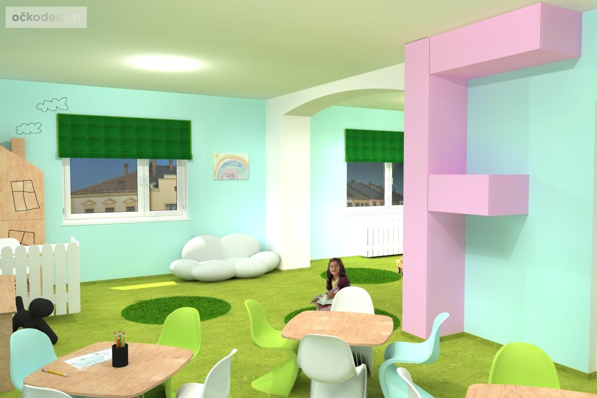 design školka,designové interiéry,3D návrhy, Interiérový designer 11