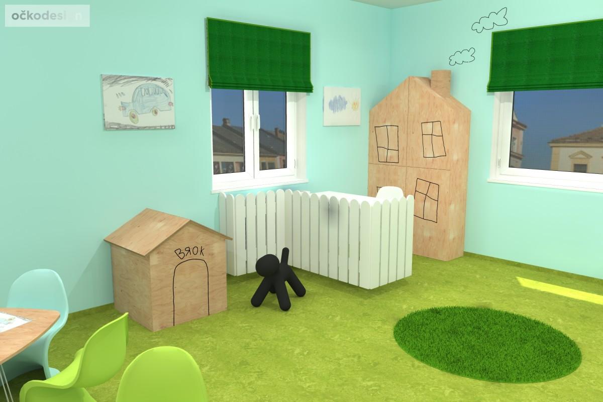 design školka,designové interiéry,3D návrhy, Interiérový designer 12