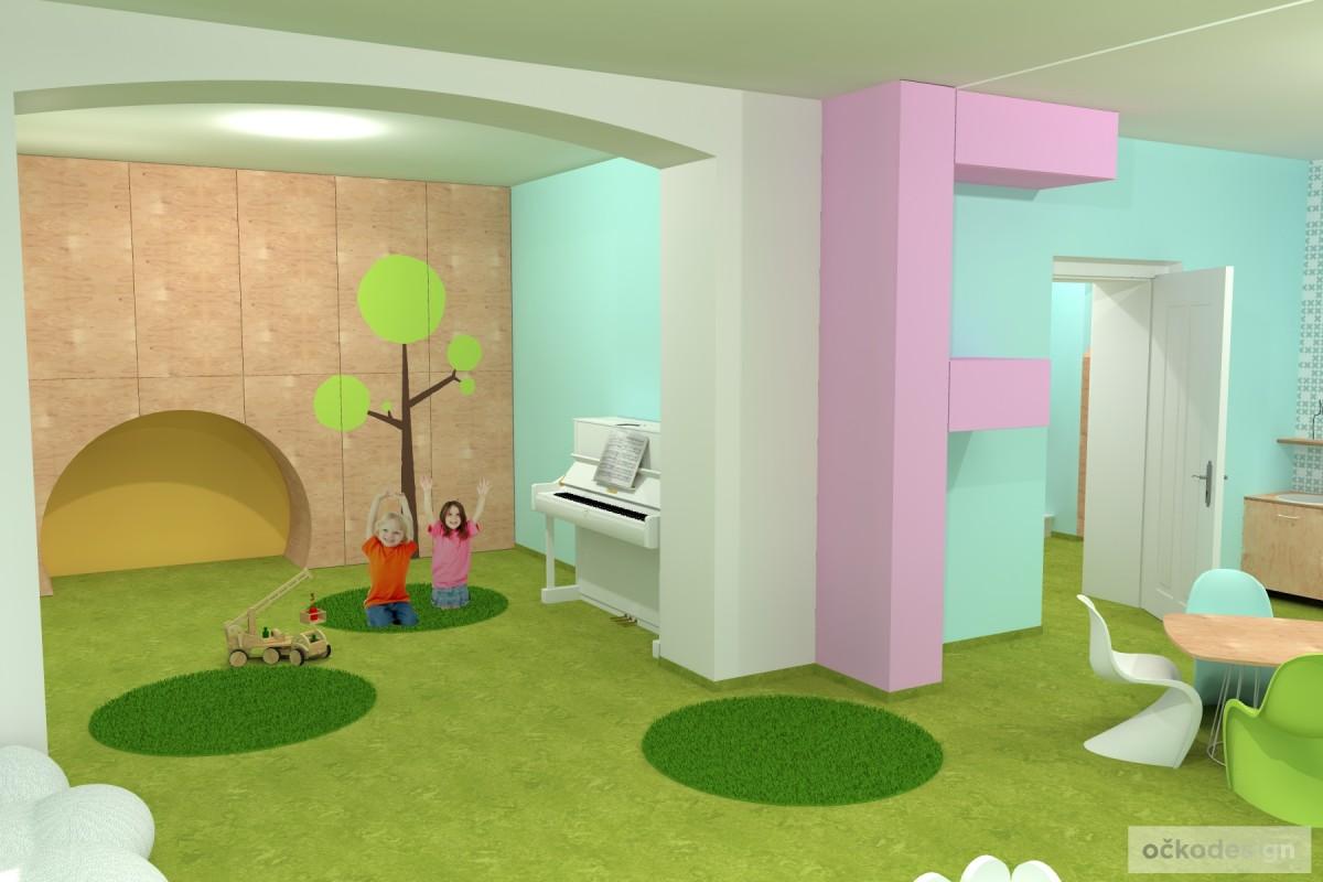 design školka,designové interiéry,3D návrhy, Interiérový designer 14