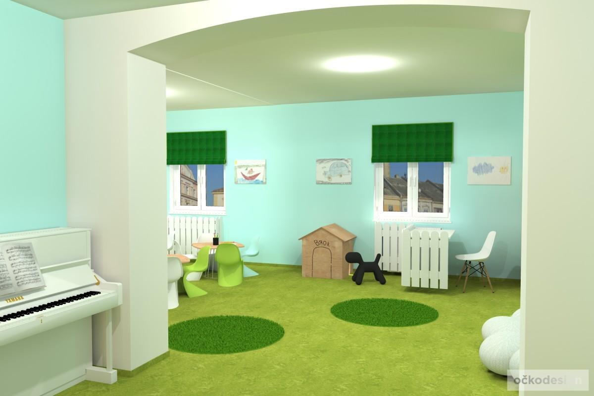 design školka,designové interiéry,3D návrhy, Interiérový designer 15