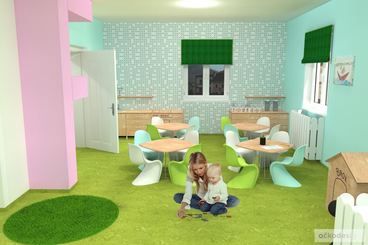 design školka,designové interiéry,3D návrhy, Interiérový designer 16