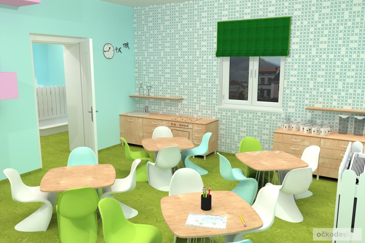 design školka,designové interiéry,3D návrhy, Interiérový designer 17