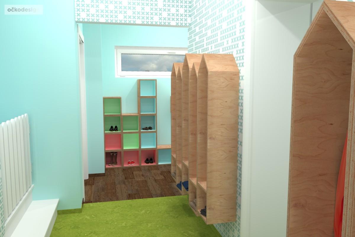 design školka,designové interiéry,3D návrhy, Interiérový designer 7