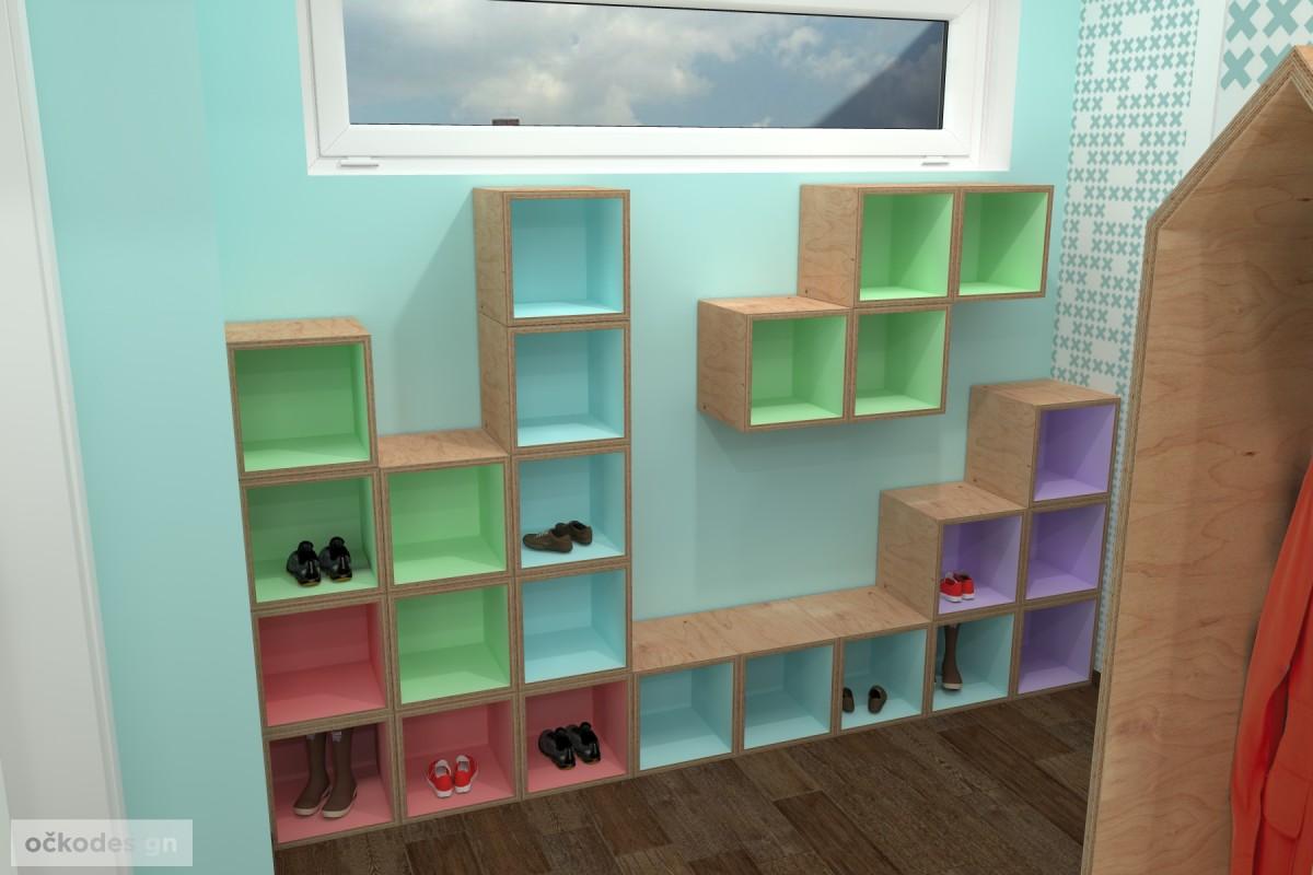 design školka,designové interiéry,3D návrhy, Interiérový designer 8