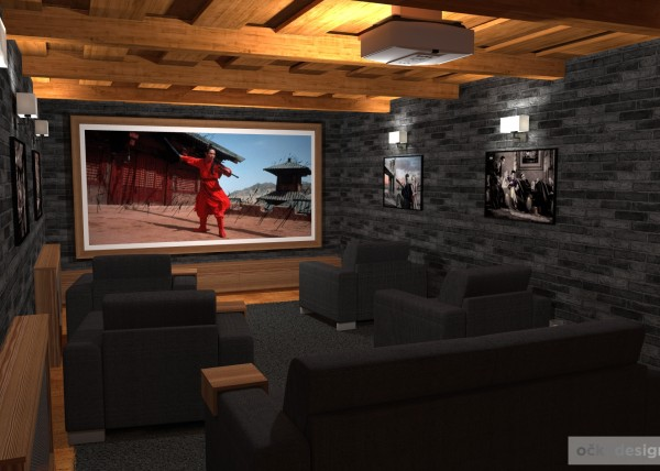 3D návrhy interiérů,bytový designer, návrh domácího kina, designové interiéry