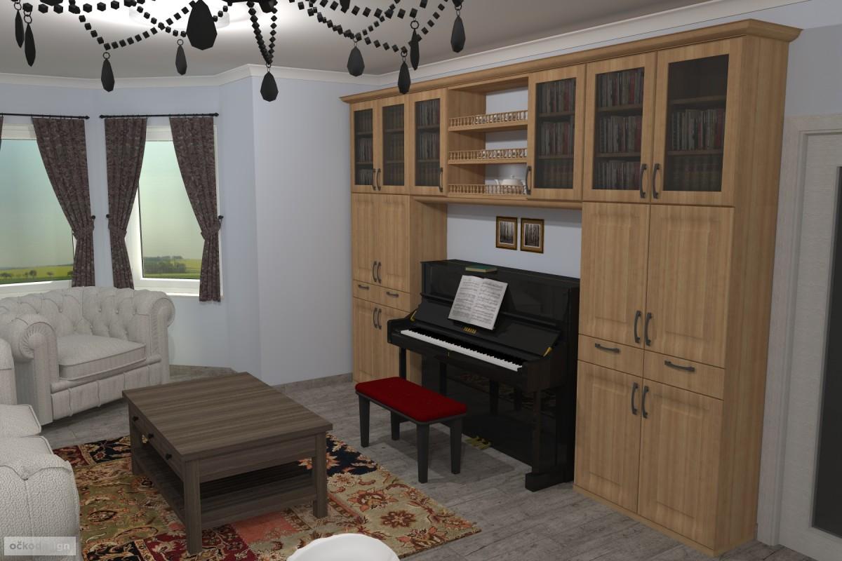 Interiér v romantické stylu, provensálský styl,3D návrhy interiérů 4