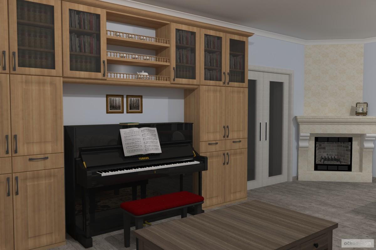 Interiér v romantické stylu, provensálský styl,3D návrhy interiérů 5