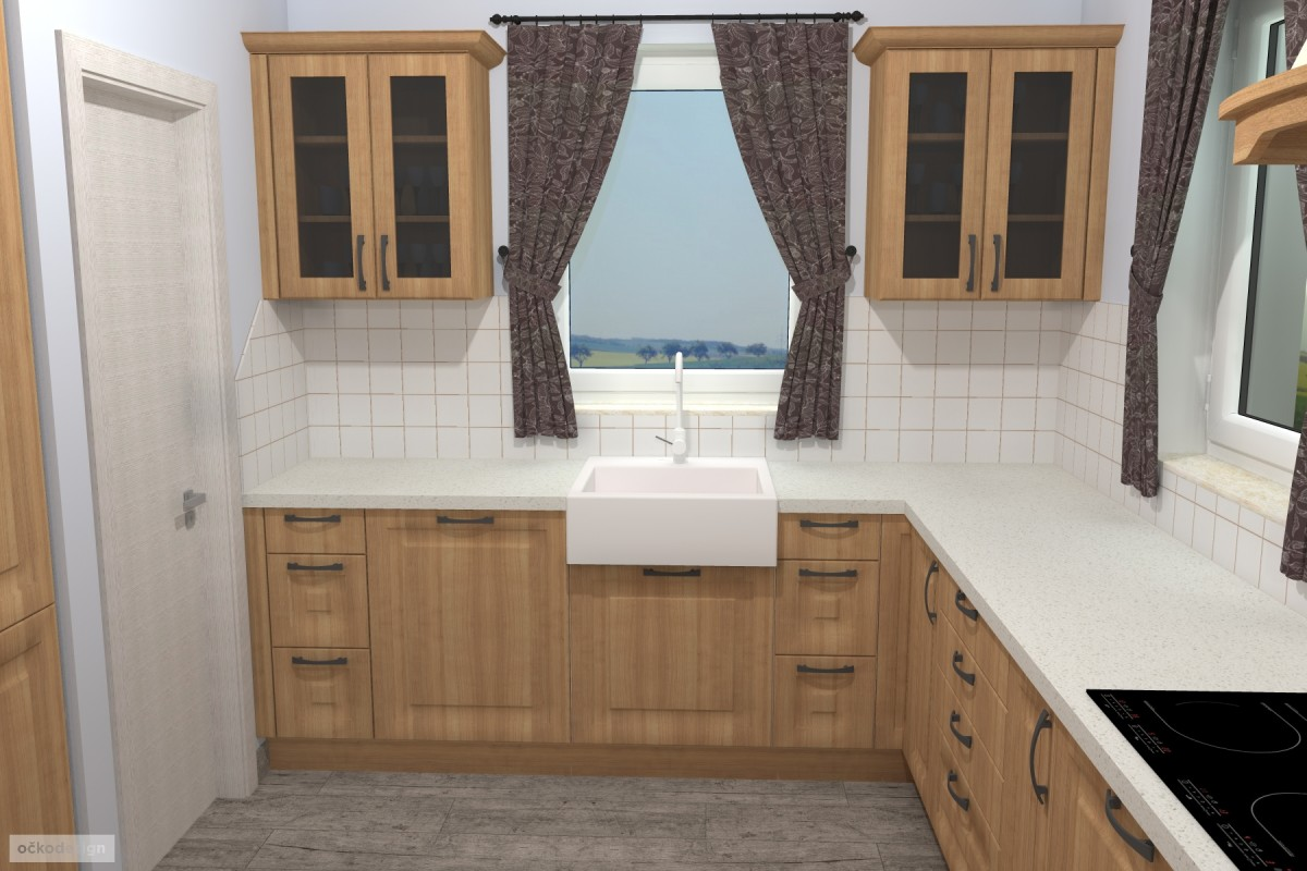 Interiér v romantické stylu, provensálský styl,3D návrhy interiérů 8
