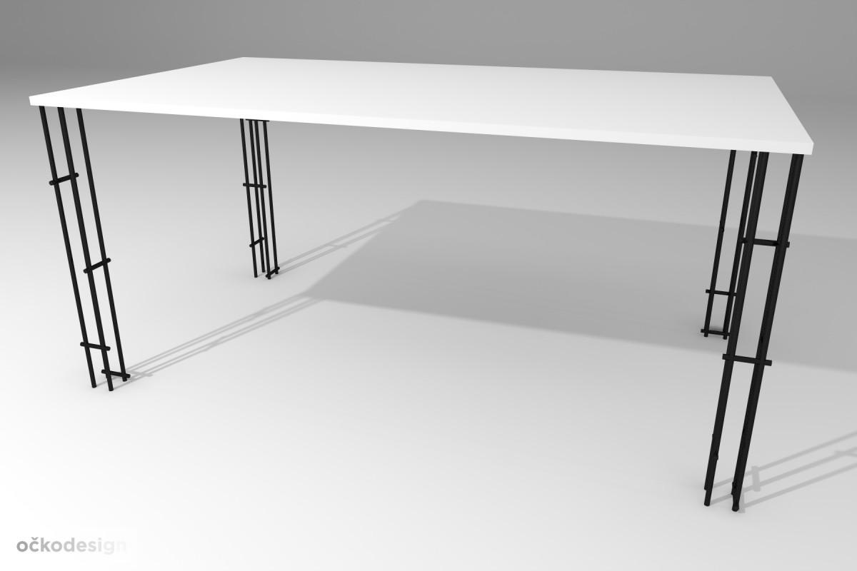 Jídelní stůl Lehký, produktový design,3D vizualizace 3