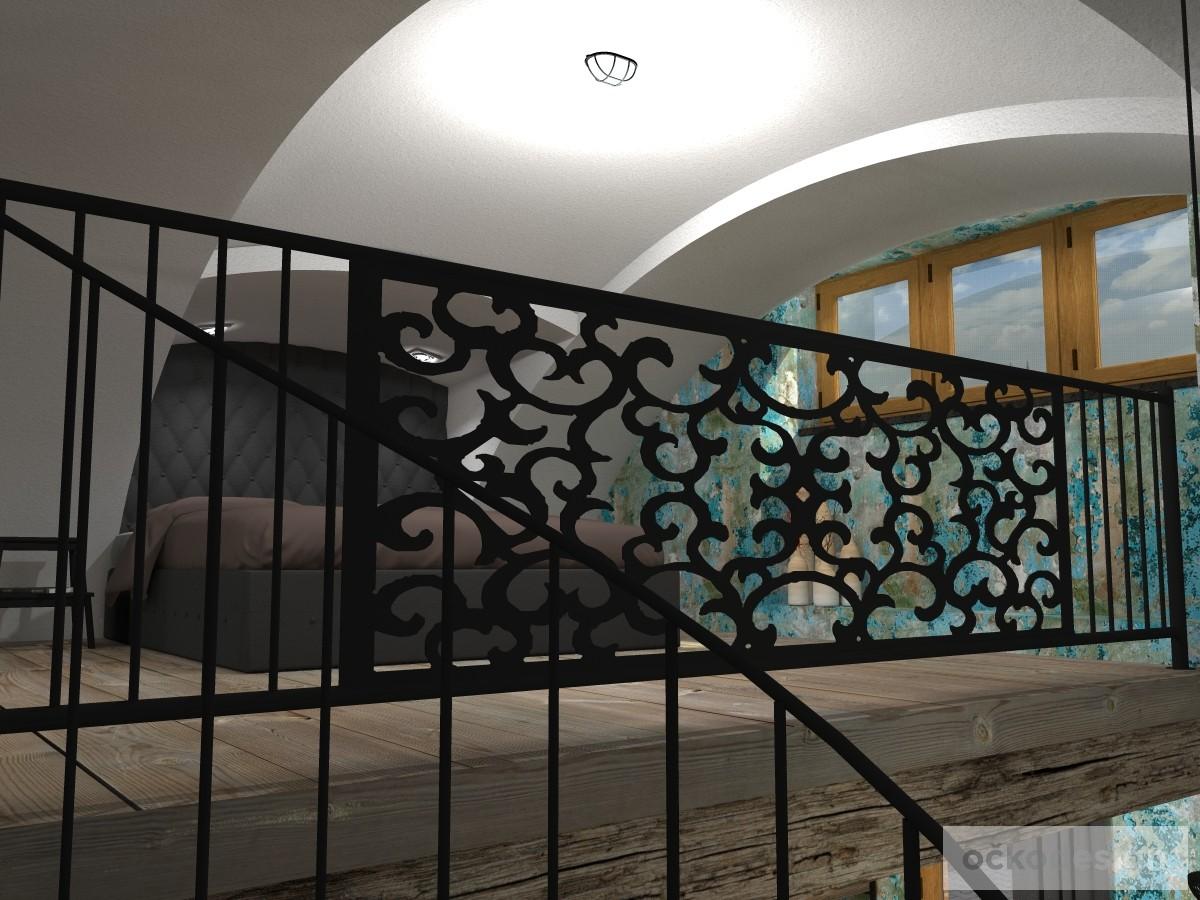 loftové byty, industriální styl,3d návrhy,Petr Molek, Bytový architekt Praha 12
