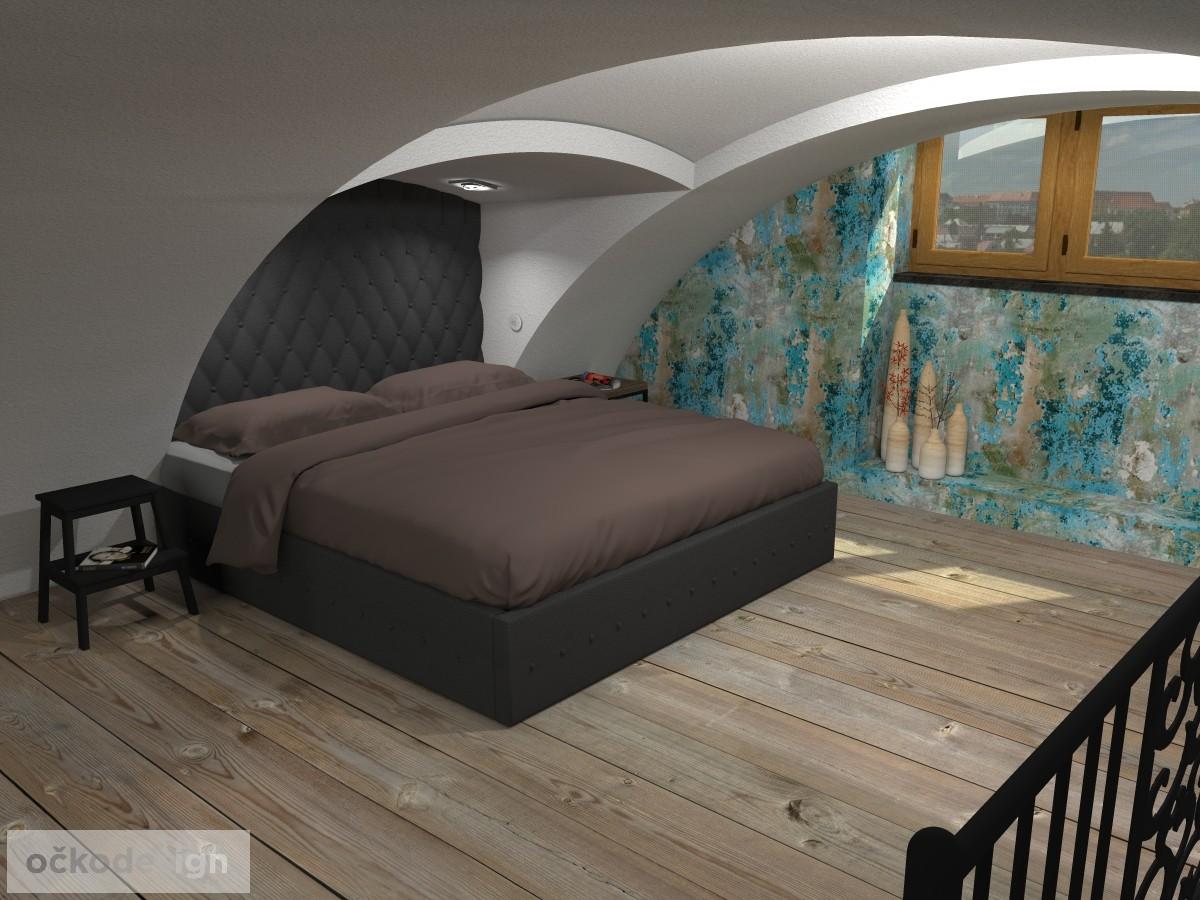 loftové byty, industriální styl,3d návrhy,Petr Molek, Bytový architekt Praha 13