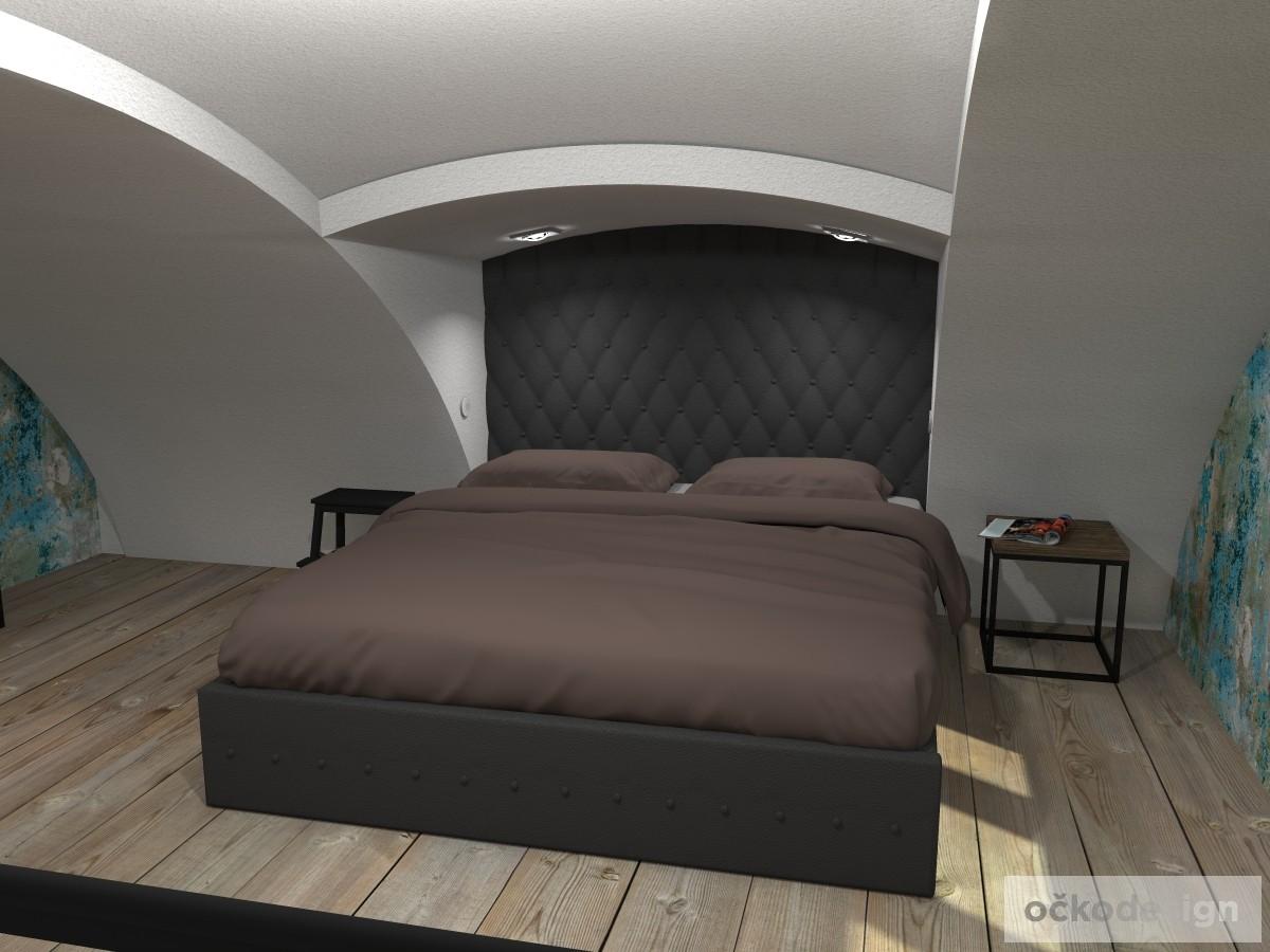 loftové byty, industriální styl,3d návrhy,Petr Molek, Bytový architekt Praha 14
