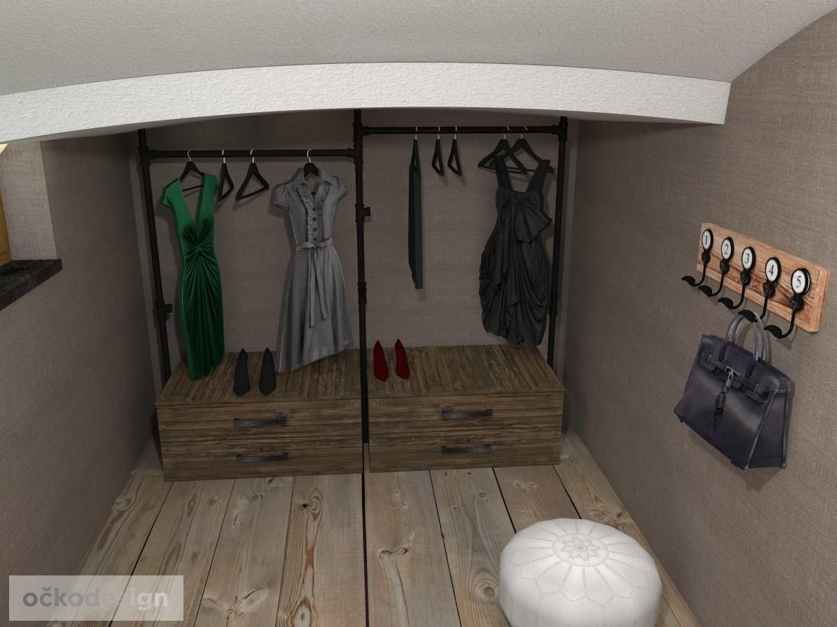 loftové byty, industriální styl,3d návrhy,Petr Molek, Bytový desidner Praha 18