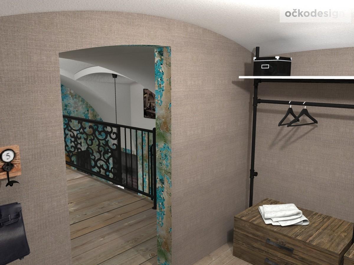 loftové byty, industriální styl,3d návrhy,Petr Molek, Bytový desidner Praha 20