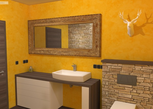 3D návrhy koupelen, bytový designer Praha,Bytový architekt Brno