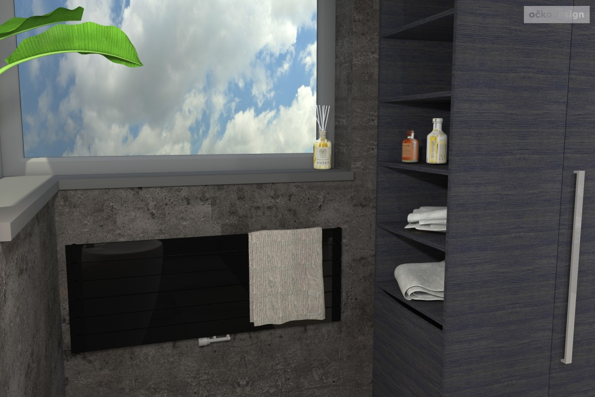designové koupelny-jak navrhnout byt-návrhy interiérů