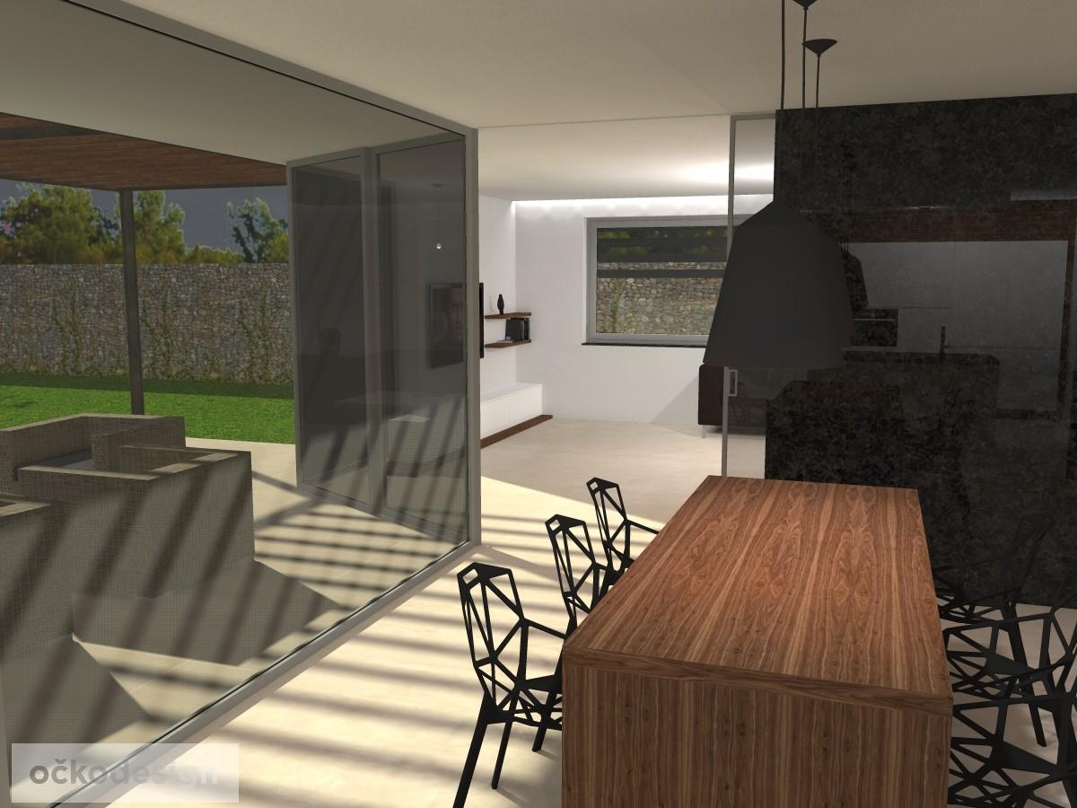 jak navrhnout dům, jak navrhnout interiér, bytový architekt
