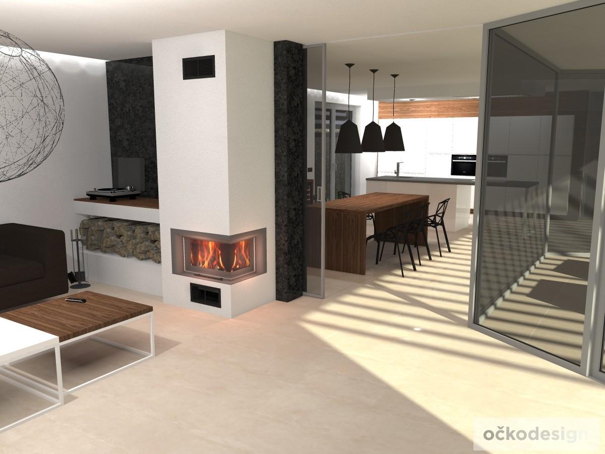 moderní obývací, bytový architekt, dekoratér, bytový designer