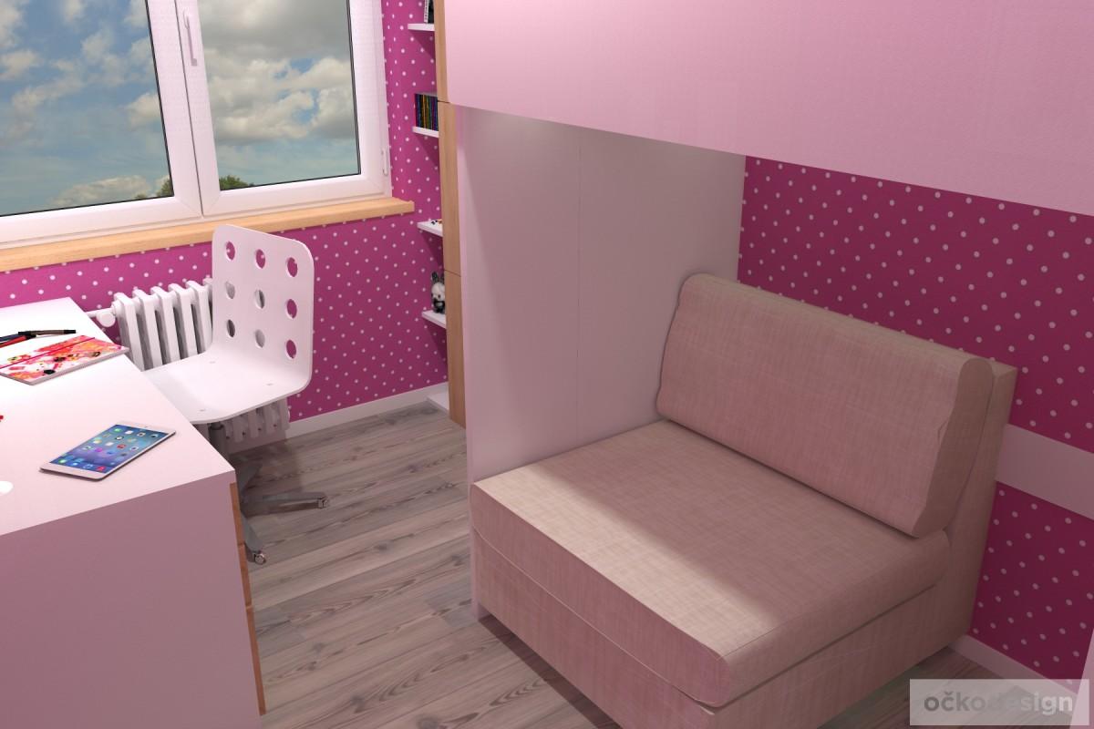 bytový designer,návrhy dětských pokojů,studentský pokoj,jak vytvořit dětský 1