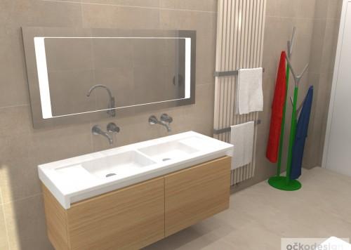 Minimalistická koupelna, Koupelna pro děti, Inspirace koupelna, 3D návrhy Molek