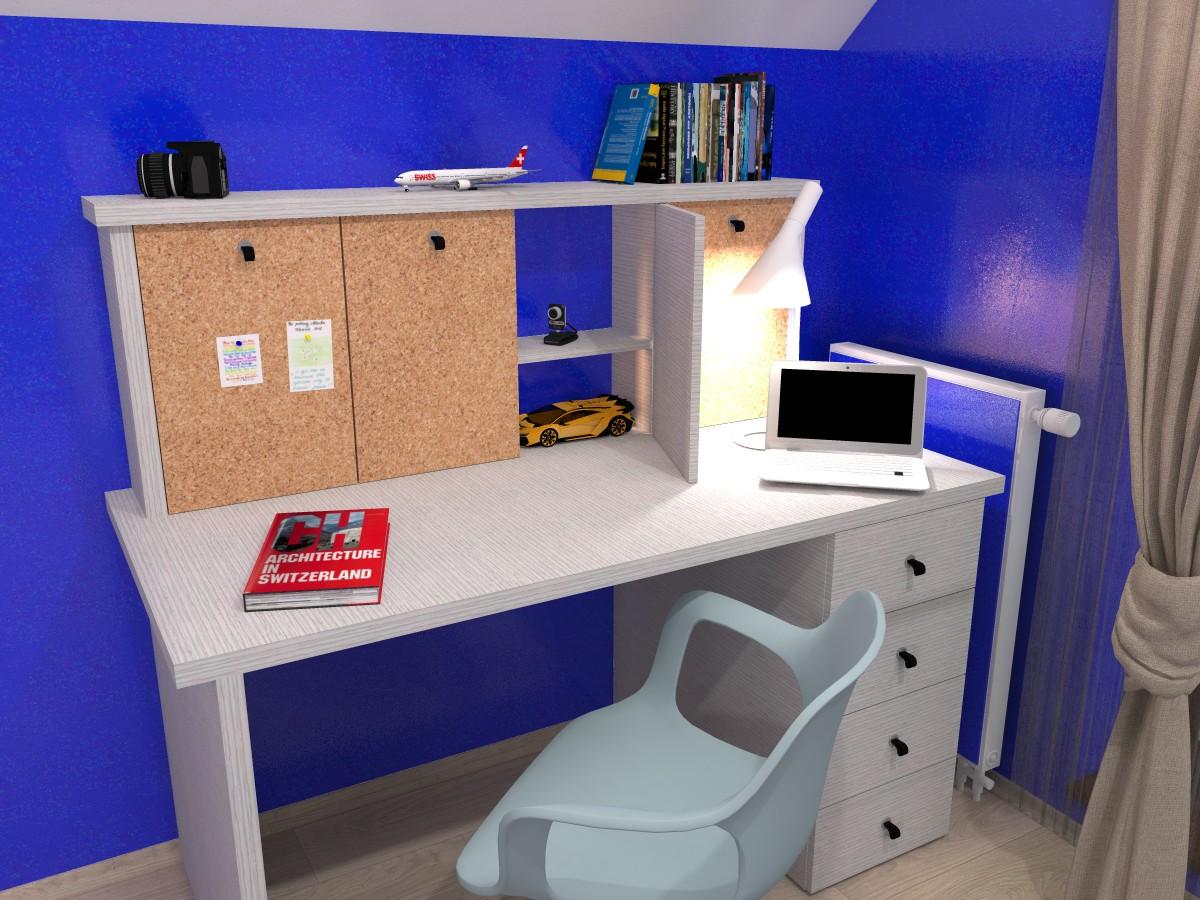 e,designový studenstký pokoj, jan navrhnout dětský, Petr Molek designer, designové interiéry, moderní dům